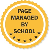 page managed by school stamp