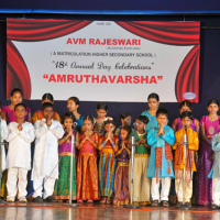 A V M RAJESWARI THE SCHOOL FOR GREATER VALUES A MATRICULATION HIGHER SECONDARY SCHOOL